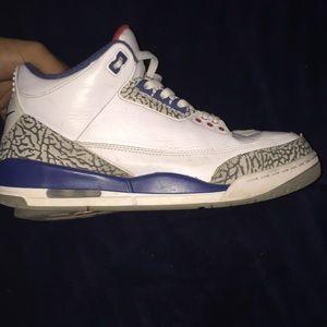 "Jordan retro 3's ""true blue"""